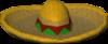Pinata sombrero detail