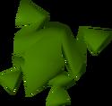 Swamp toad detail