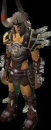 Bandos armour equipped female