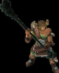 Bandosian bodyguard (mage)
