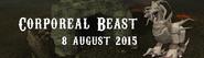 Corporeal Beast 8 August 2015