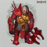 Red Axe concept art