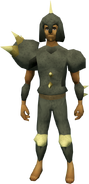 Replica Dharok's outfit equipped