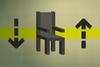 Rocking chair (flatpack) detail