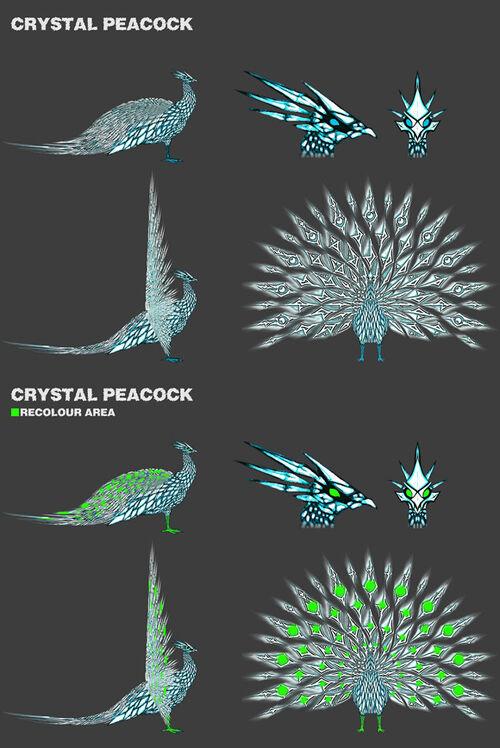 Crystal Peacock design a pet news image