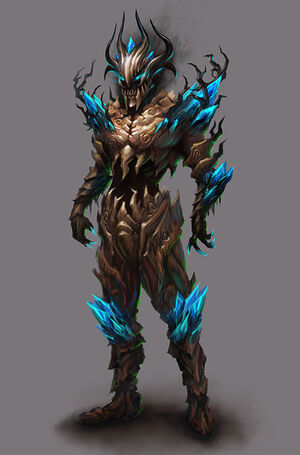 Dark Lord outfit concept art