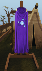 Divination cape stand