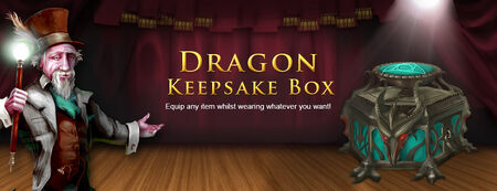 Dragon Keepsake banner