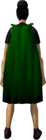 Fremennik cloak (green) equipped