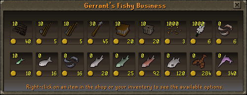Gerrant's fishy business