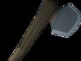 Gorgonite hatchet