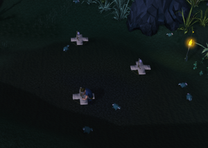 Hunting viridian skillchompas