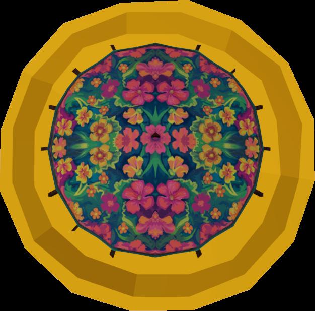 Kauai parasol token detail