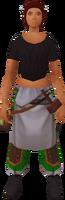 Labourer's apron (female)