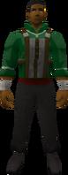 Retro tunic and half apron