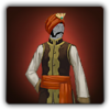 Silken outfit icon (male)