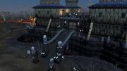 Dark Warriors' Fortress entrance