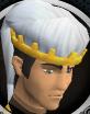 Diamond jubilee souvenir hat (white) chathead