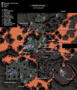 Dragonkin Laboratory map
