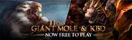 Giant Mole & KBD F2P lobby banner