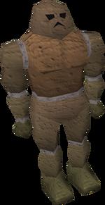 Golem de argila