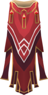 Hooded completionist cape detail