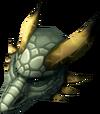Hydrix dragon mask detail