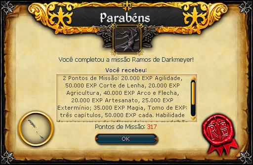 Ramos de Darkmeyer recompensas