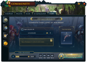 RunePass (Ocean's Bounty) interface 1