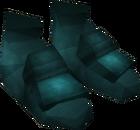 Rune boots detail