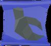 Stony shell scroll detail