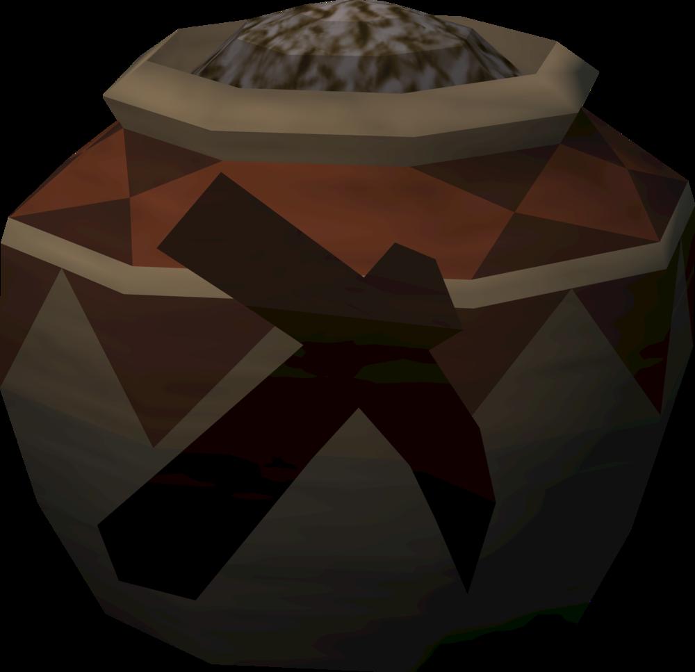 Strong mining urn (full) detail