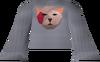 Bob shirt (red) detail