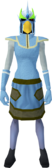 Mighty slayer helmet (cf) (green) equipped.png
