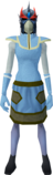 Reinforced slayer helmet (f) (red) equipped.png