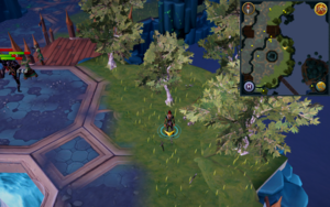Scan clue Heart of Gielinor north-west of The Heart