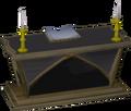 Teak altar built