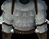 Werewolf torso (white, male) detail