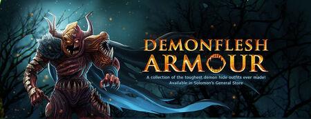 Demonflesh Armour banner