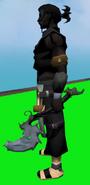 Fae Fairy Off-hand Battleaxe equipped