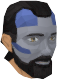 Highland war paint (blue, male) chathead