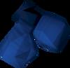 Mystic gloves (blue) detail