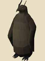 Fine penguin statue