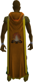 Hooded firemaking cape (t) equipped