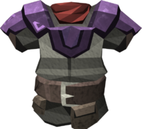 Miner chestplate (mithril) detail