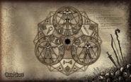 RuneScape Combat Triangle Wallpaper
