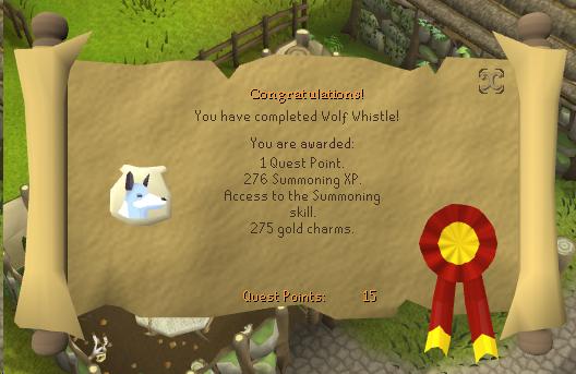 Wolf Whistle reward (historical)