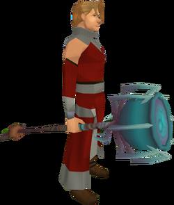 Cauldron Maul equipped