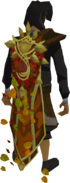Cloak of Seasons (autumn) equipped