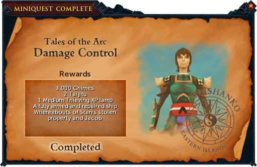 Damage Control reward
